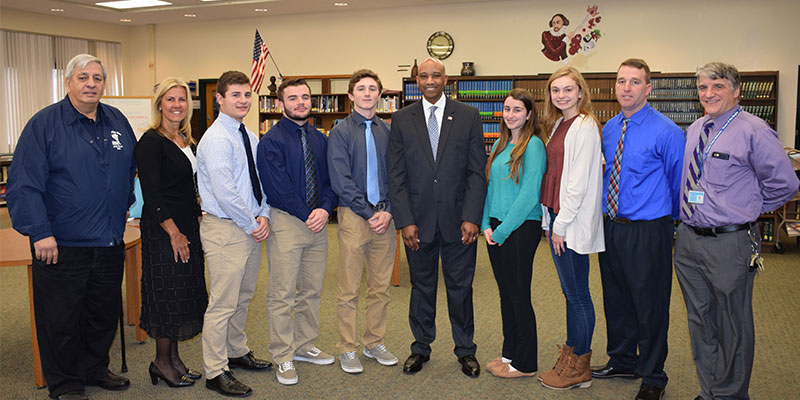 Rocky Point Students Meet With New Sheriff to Explore Government