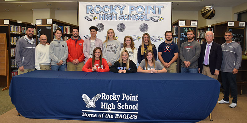 Athletes Commit to College