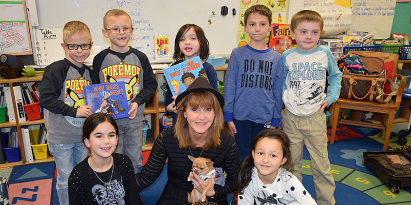 Author Visit Inspires Rocky Point Students