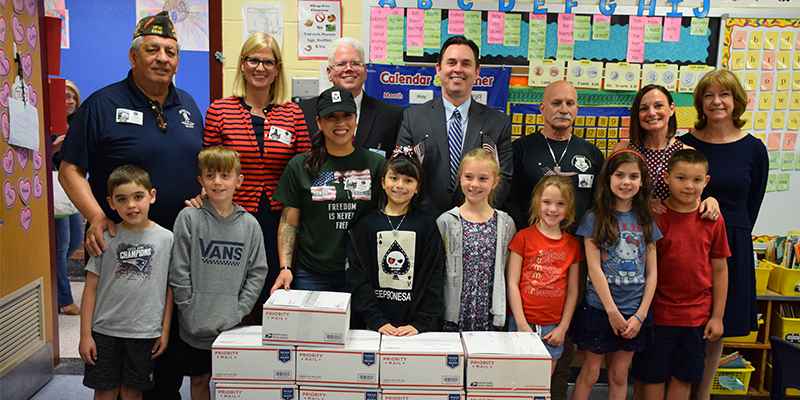 Rocky Point Sends Care Packages to Military Service Personnel