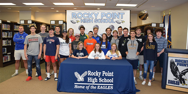 Eagles Fly off With College Commitments