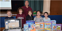 Illustrator Inspires Rocky Point Students photo