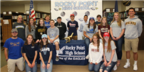 Eagles Soar onto College Photo